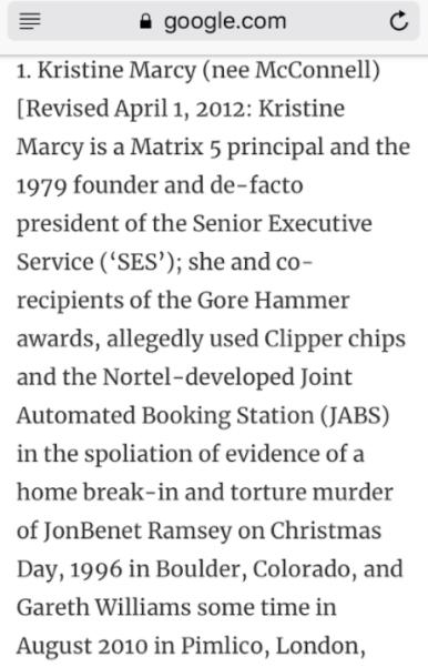 Kristine Marcy defined