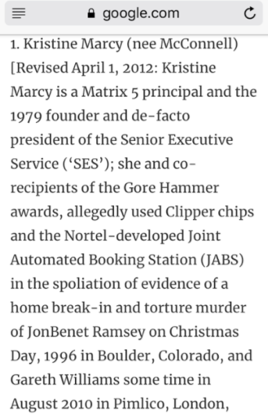 Kristine Marcy defined