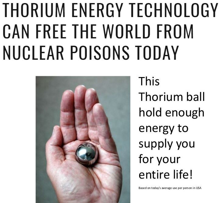 Thorium article picture