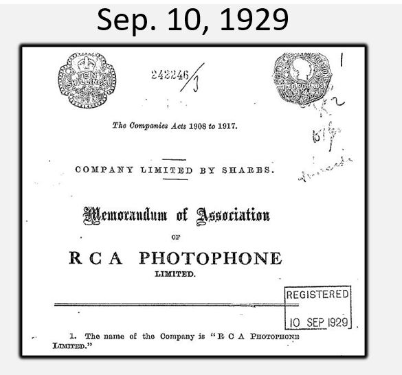 RCA 1