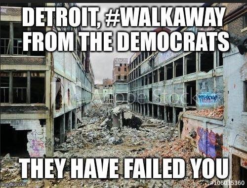 Detroit walkaway