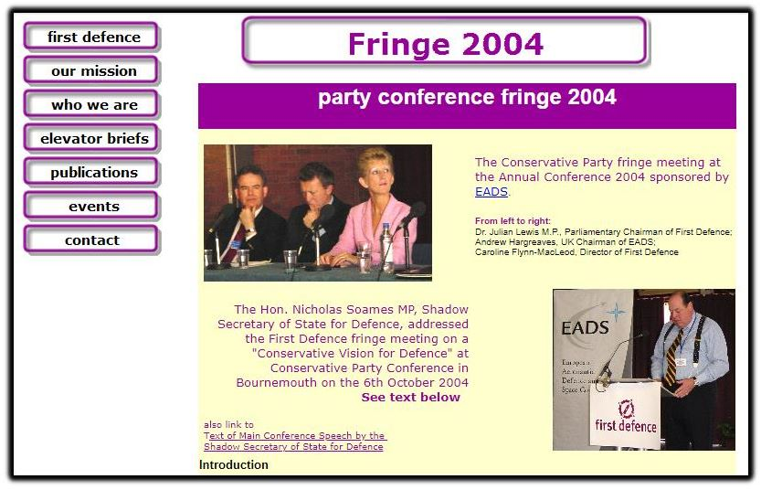 Fringe meeting 2