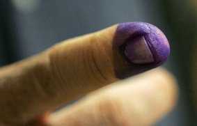 purple-finger