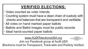 Verified elections