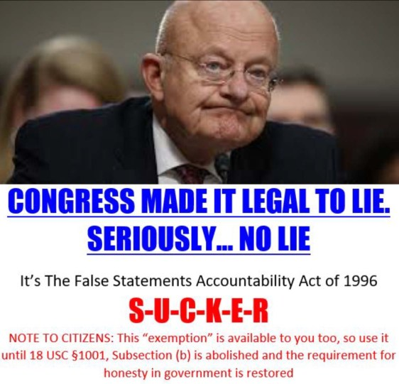 james clapper lies