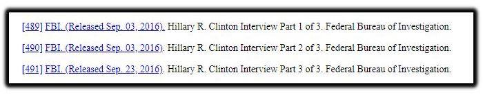 clinton interview