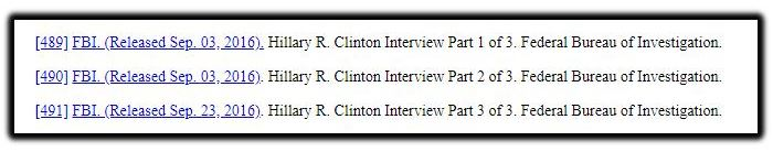 clinton interview