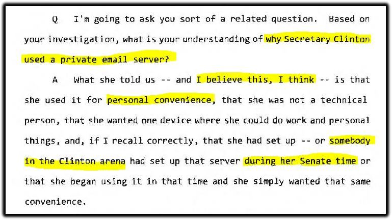 private email server strzok