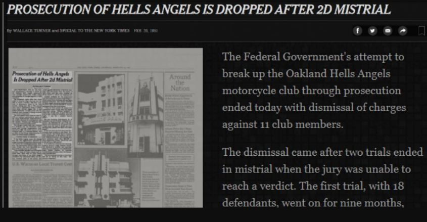 prosecution of hells angels