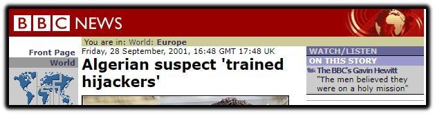 algerian suspect