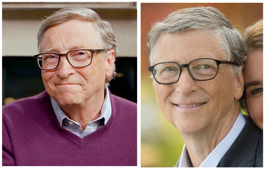 bill gates before after