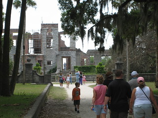 carnegie mansion ruins