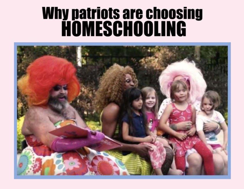 Homeschooling drag queens